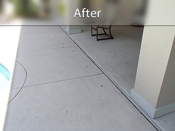 Concrete Lifting Before and After Photos | PolyLevel