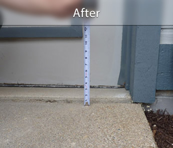 Montréal concrete walkway repair & Leveling